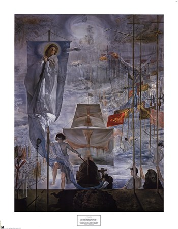 The Discovery of America by Christopher Columbus, c.1959  Fine-Art Print