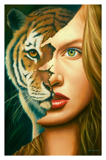 Tiger Within  Fine-Art Print