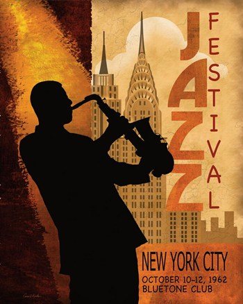 1962 Jazz in New York ~ Fine-Art Print - Vintage Music Art ...