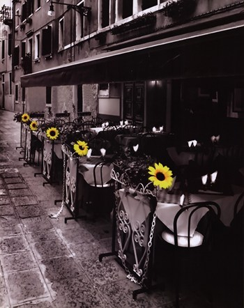 Sunflower Cafe  Fine-Art Print