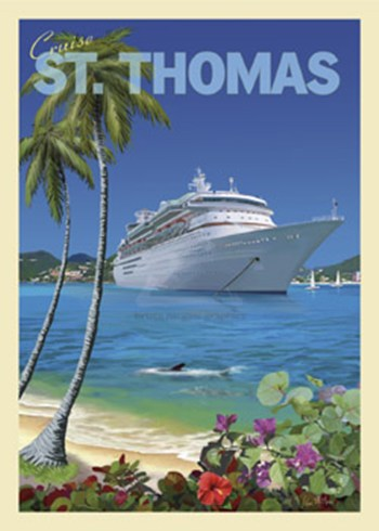Cruise St. Thomas  Fine-Art Print