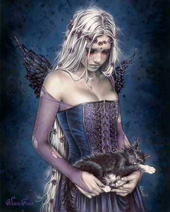 Victoria Frances - Angel Of Death  Wall Poster
