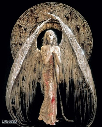 White Angel  Wall Poster