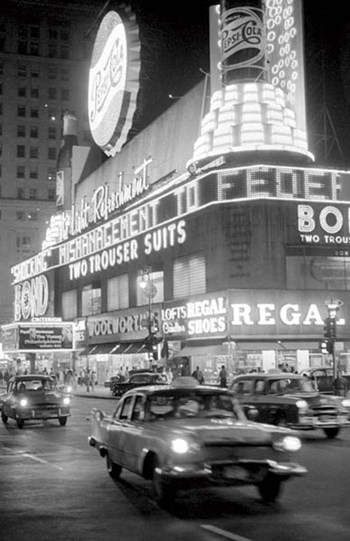 Times Square 1959  Wall Poster