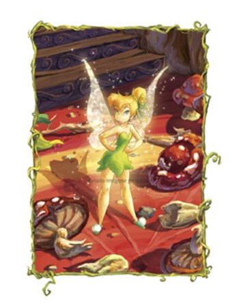 Tinker Bell Takes Charge  Fine-Art Print
