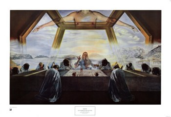 The Sacrament of the Last Supper, c.1955  Fine-Art Print