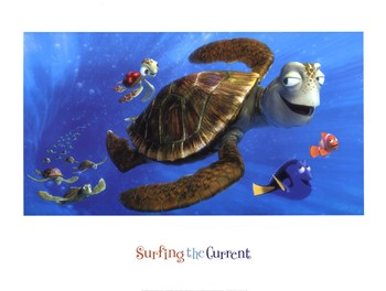 Surfing the Current  Fine-Art Print