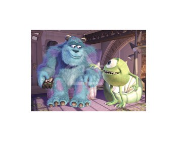 Mike & Sully  Fine-Art Print
