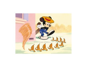 Disney - Little Whirlwind  Fine-Art Print