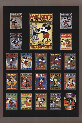 Mickey's Greatest Moments  Fine-Art Print