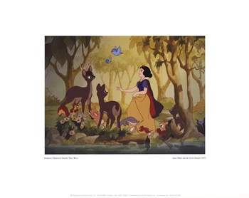 Snow White  Fine-Art Print
