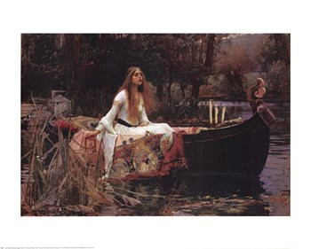 Lady of Shalott, c.1888  Fine-Art Print