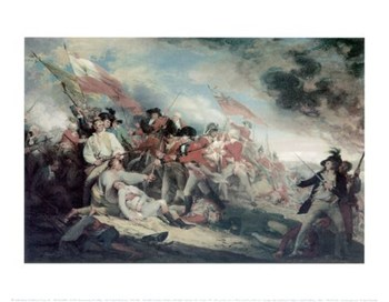 The Death of General Warren at the Battle of Bunker's Hill, 17 June 1775  Fine-Art Print