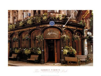 The Bloomsbury Pub, London  Fine-Art Print
