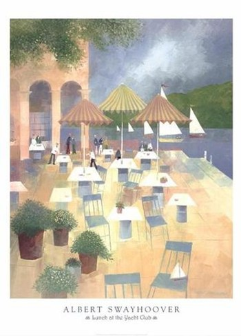 Lunch at the Yacht Club  Fine-Art Print