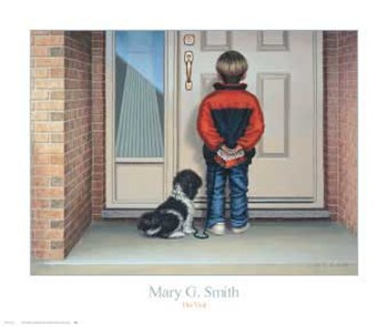 Mary G. Smith - The Visit Size 16x19  Fine-Art Print