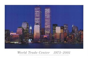 World Trade Center 1973 - 2001  Fine-Art Print
