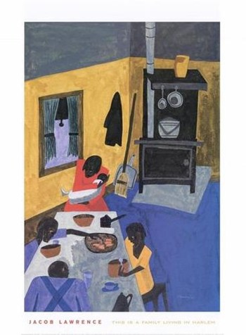 This is a Family Living in Harlem, 1943  Fine-Art Print