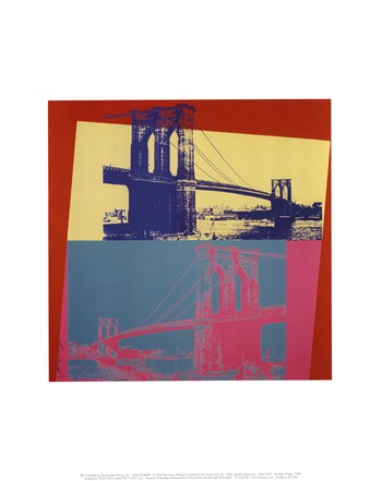 Brooklyn Bridge, 1983  Fine-Art Print