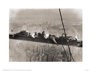 Rockefeller Center, 1932 (Resting on a Girder)  Fine-Art Print
