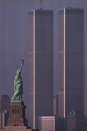 America Stands Tall Wtc  Fine-Art Print