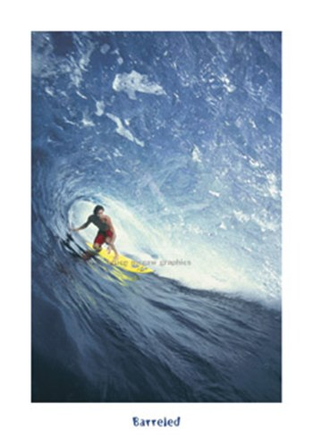 Barreled, North Shore Oahu, HI  Fine-Art Print