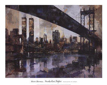 Manhattan Skyline  Fine-Art Print