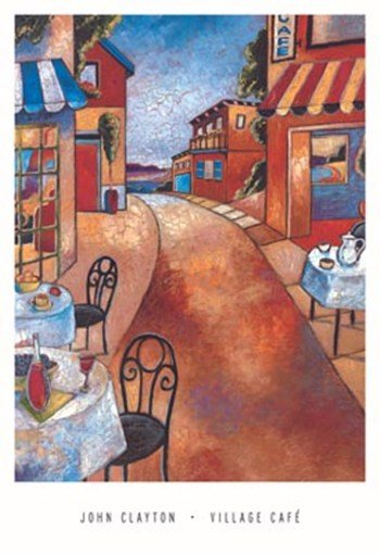 Village Cafe  Fine-Art Print