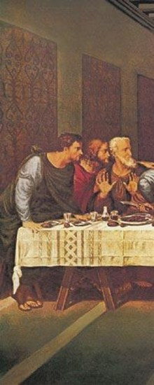 Last Supper (Tryptych)  Fine-Art Print