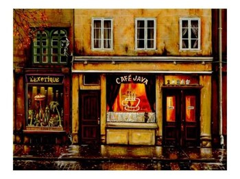 Cafe Java  Fine-Art Print