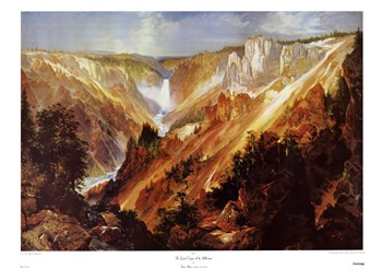 The Grand Canyon Of The Yellowstone  Fine-Art Print