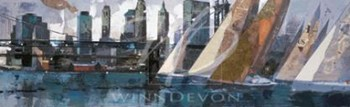 Race In Manhattan I (Le)  Giclee