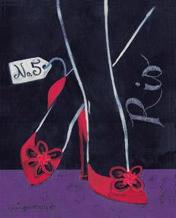 High Heels Rio  Fine-Art Print