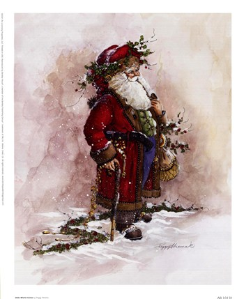 Olde World Santa  Fine-Art Print