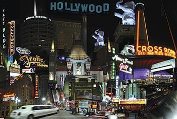 Hollywood Montage  Wall Poster
