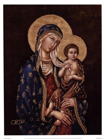 Madonna and Child  Fine-Art Print