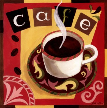 italian cafe ~ fine-art print - kitchen art prints and posters