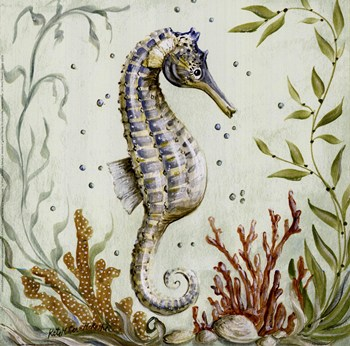 Contemporary Bathroom Art Prints pacific seahorse ~ fine-art print - contemporary bathroom art