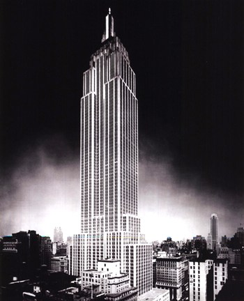 New York - Empire State  Wall Poster