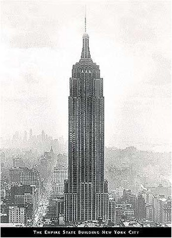 Empire State Building  Wall Poster