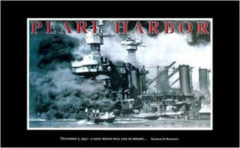 Pearl Harbour - Infamy  Wall Poster