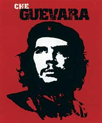 Che Guevera - Red  Wall Poster