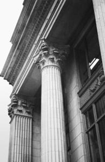 Columns At Entry  Fine-Art Print