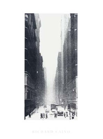 New York Snow  Fine-Art Print