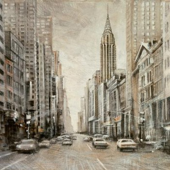 To The Chrysler Building  Fine-Art Print