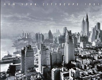 New York Cityscape  Wall Poster