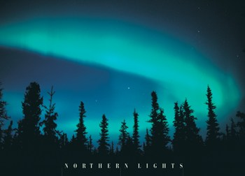 Northern Lights  Wall Poster