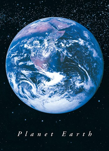 Planet Earth  Wall Poster