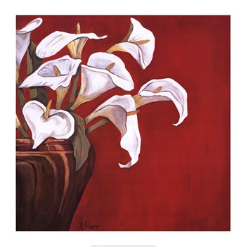 Callas on Red  Fine-Art Print