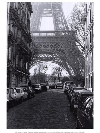"Street View of ""La Tour Eiffel""  Fine-Art Print"